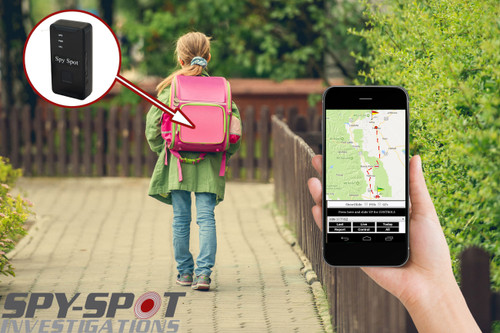 4G LTE Child GPS Portable Tracker Teenagers SOS Notifications Carry Pouch
