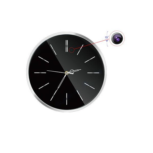 1080P HD WIFI Wall Clock Security Camera iOS/Android