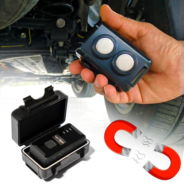 4g lte gps tracker and magentic case