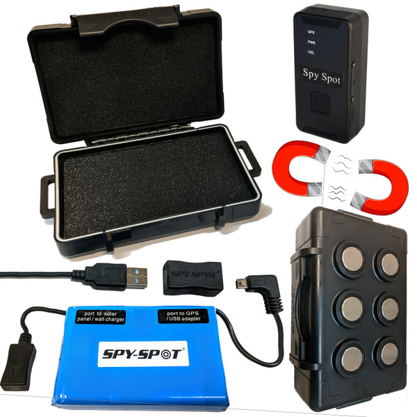 4G LTE Micro GPS Tracker with Extended Battery and Magnetic Case