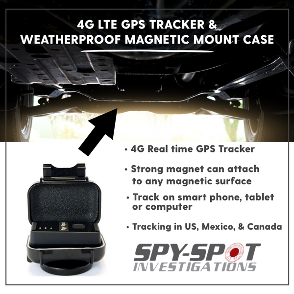 Bargain 4G LTE Portable GPS Tracker and Weatherproof Magnetic Case