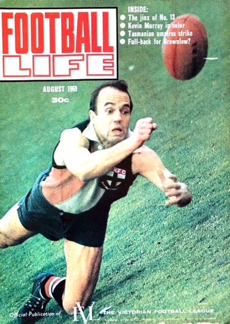 FOOTBALL LIFE MAGAZINE AUGUST 1969 EDITION