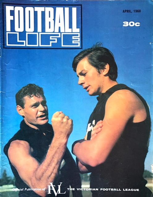 FOOTBALL LIFE MAGAZINE 1968 APRIL EDITION