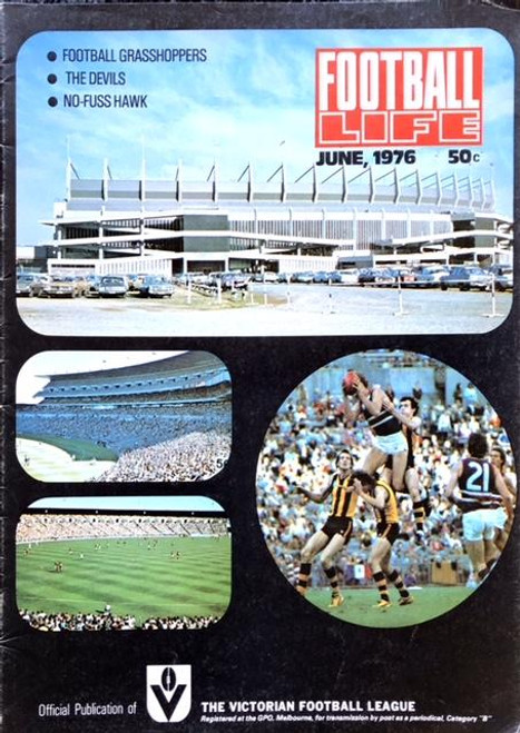 FOOTBALL LIFE MAGAZINE 1976 JUNE EDITION