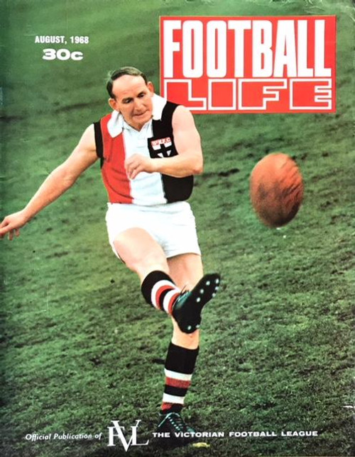 FOOTBALL LIFE MAGAZINE 1968 AUGUST EDITION