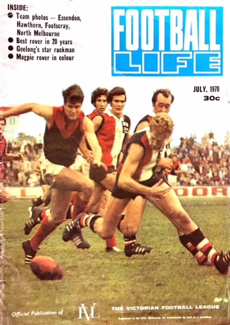 FOOTBALL LIFE MAGAZINE 1970 JULY EDITION