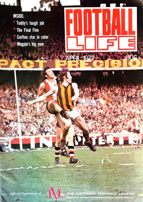 FOOTBALL LIFE MAGAZINE 1972 APRIL EDITION