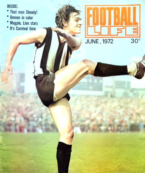 FOOTBALL LIFE MAGAZINE 1972 JUNE EDITION