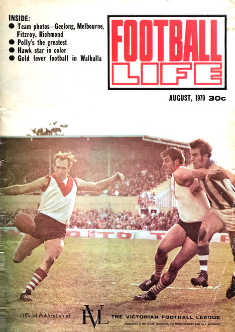 FOOTBALL LIFE MAGAZINE 1970 AUGUST EDITION
