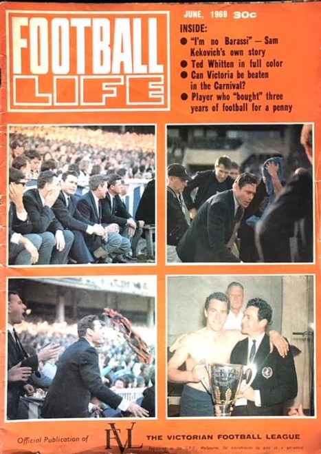 FOOTBALL LIFE MAGAZINE 1969 JUNE EDITION