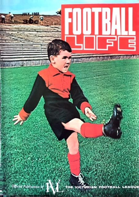 FOOTBALL LIFE MAGAZINE 1968 JULY EDITION