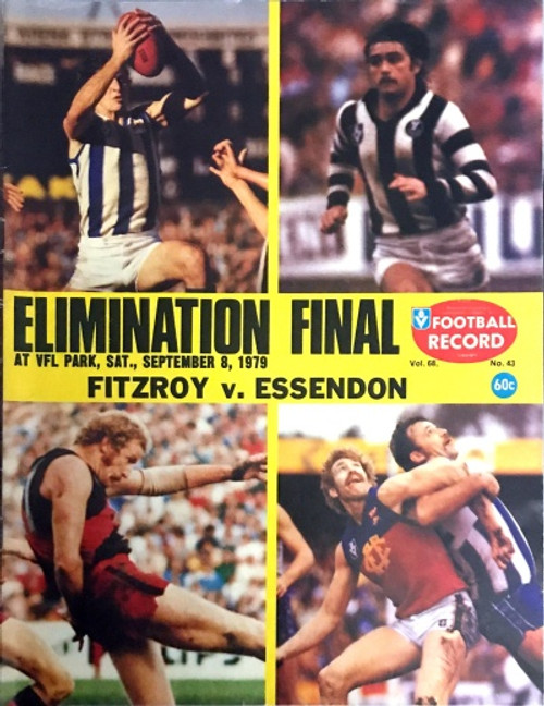 1979 FITZROY V ESSENDON Elimination Final Football Record