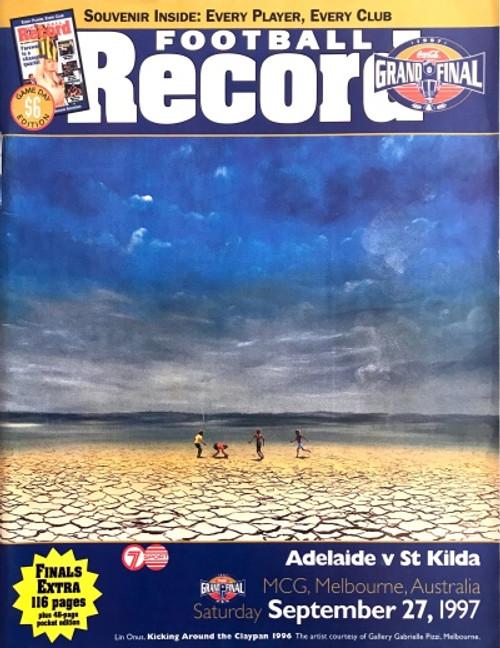 1997 ADELAIDE V ST KILDA Grand Final Football Record