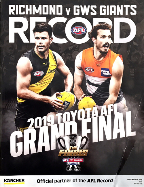 2019 RICHMOND V GREATER WESTERN SYDNEY Grand Final Football Recors
