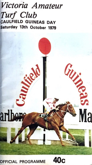 VATC CAUFIELD GUINEAS DAY 1979 Saturday 13th October Racebook