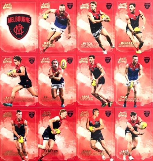 2020 AFL SELECT DOMINANCE MELBOURNE DEMONS BASE TEAM SET