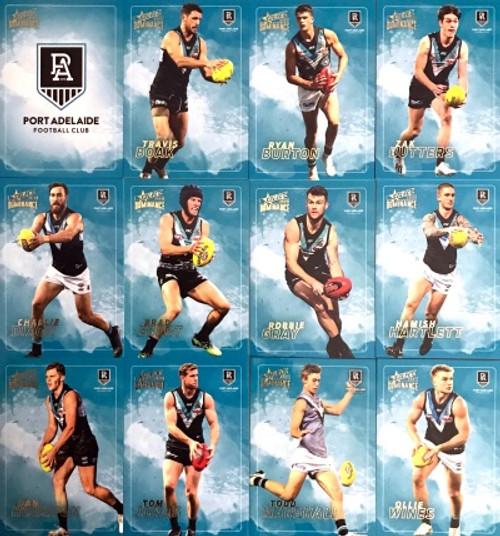 2020 AFL SELECT DOMINANCE PORT ADELAIDE POWER BASE TEAM SET