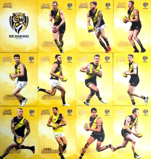 2020 AFL SELECT DOMINANCE RICHMOND TIGERS BASE TEAM SET