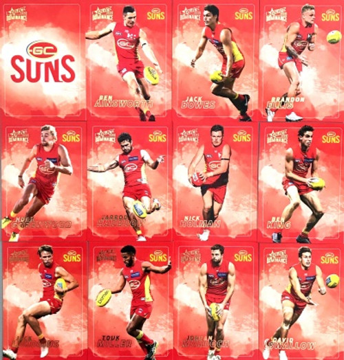 2020 AFL SELECT DOMINANCE SYDNEY SWANS BASE TEAM SET