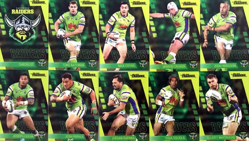 2019 NRL TRADERS CANBERRA RAIDERS BASE TEAM SET