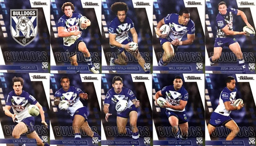 2019 NRL CANTERBURY BULLDOGS BASE TEAM SET