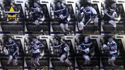 2019 NRL TRADERS NTH QUEENSLAND COWBOYS PARALLELTEAM SET