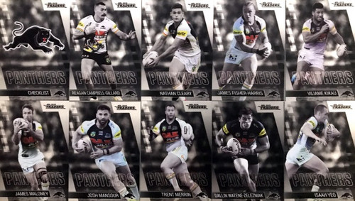 2019 NRL TRADERS PENRITH PANTHER  PARALLEL TEAM SET