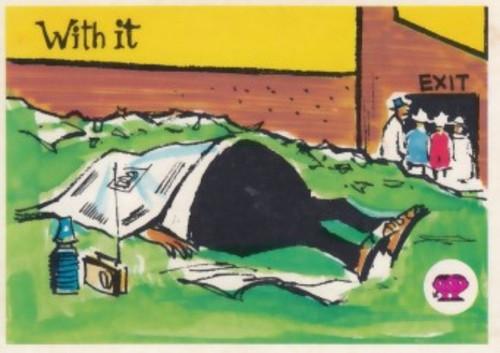 "1967 Scanlens Krazy Kricket Cards ""WITH IT"""