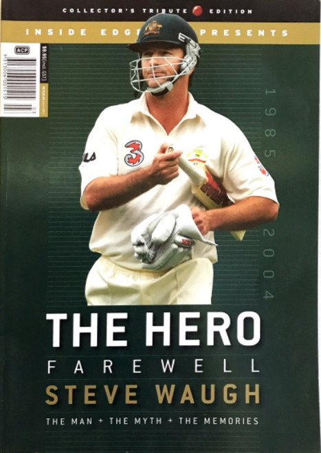 THE HERO Farewell to STEVE WAUGH Magazine