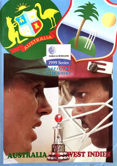 Cable & Wireless Australia v West Indies 1999 Official Test Guide