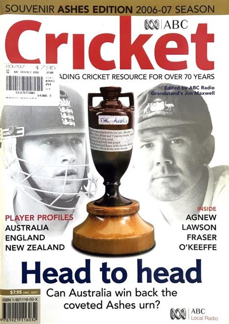 ABC Cricket Souvenir Ashes Edition 2006-07 Season Guide
