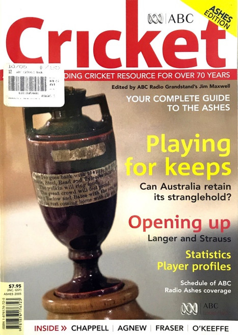 ABC Cricket 2005 Ashes Edition Booklet