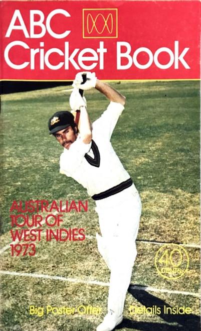 ABC Cricket Book 1973 Australian Tour of West Indies Booklet