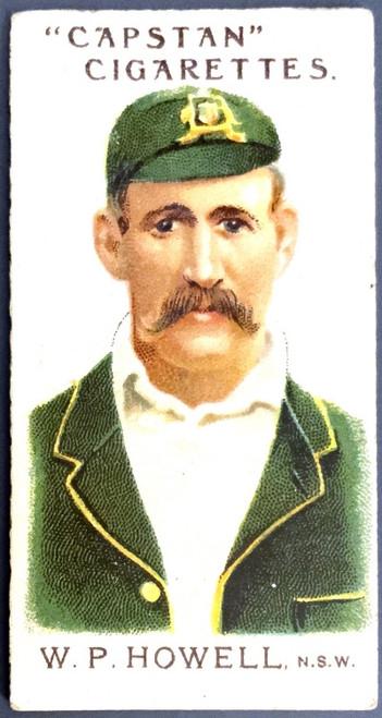 1907 Capstan Cigarettes W P HOWELL NSW Australian & English Cigarettes Card