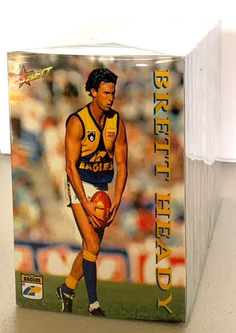 1995 AFL SELECT SERIES 1 250 CARD BASE SET