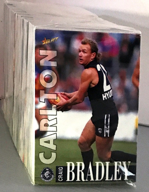 1996 AFL SELECT SERIES 1 - 250 CARD BASE SET