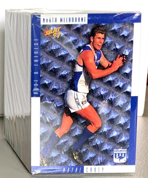 1997 AFL SELECT 200 CARD BASE SET