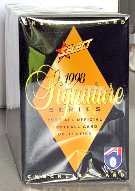 1998 AFL SELECT SIGNATURE SERIES 200 CARD BASE SET