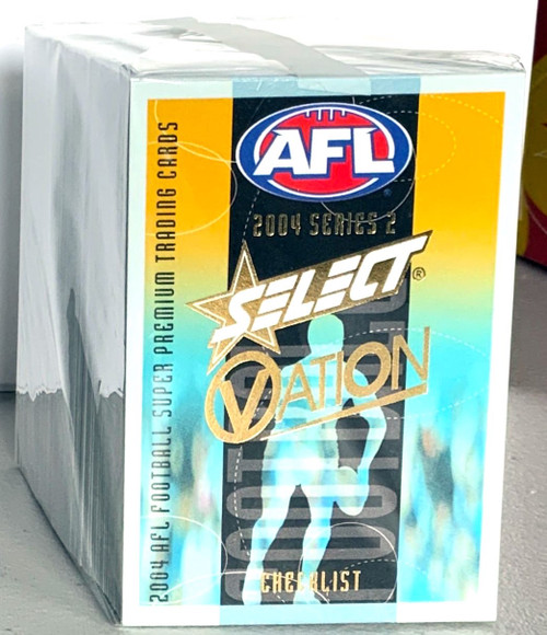 2004 AFL SELECT OVATION SERIES 2- 162 CARD BASE SET