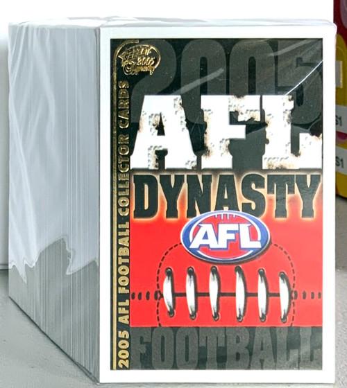 2005 AFL SELECT DYNASTY SERIES 194 CARD BASE SET