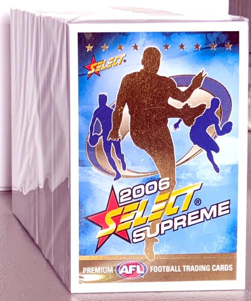 2006 AFL SELECT SUPREME SERIES 194 CARD BASE SET