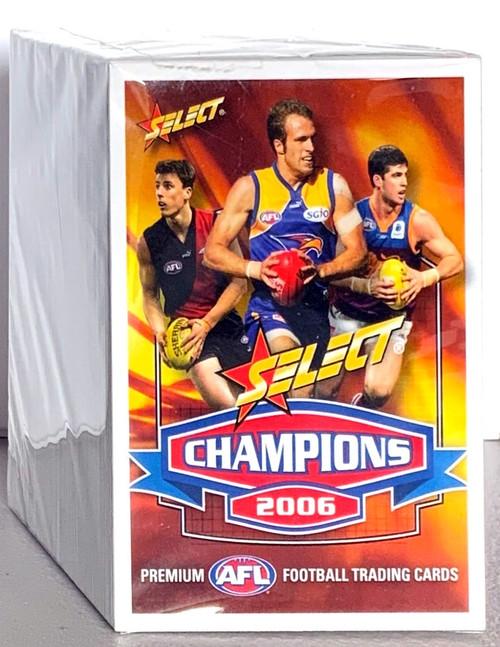 2006 AFL SELECT CHAMPIONS SERIES 162 CARD BASE SET