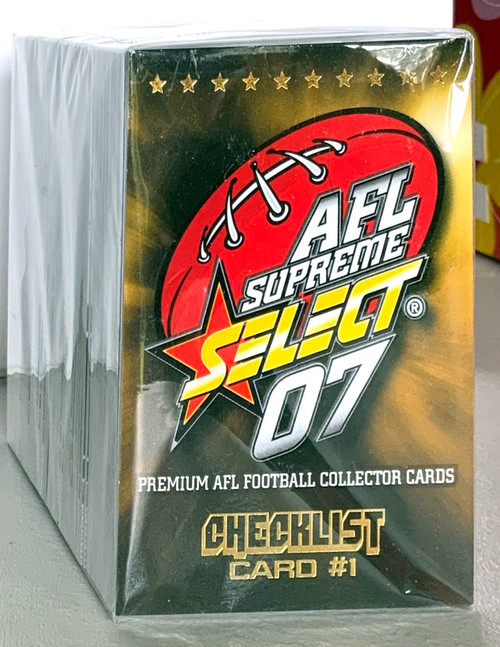 2007 AFL SELECT SUPREME SERIES 195 CARD BASE SET