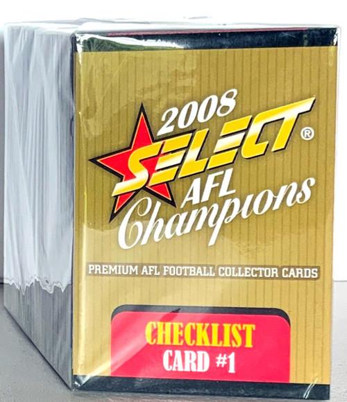 2008 AFL SELECT CHAMPIONS 195 CARD BASE SET