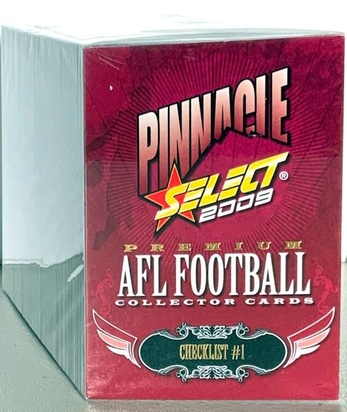 2009 AFL SELECT PINNACLE SERIES 195 CARD BASE SET