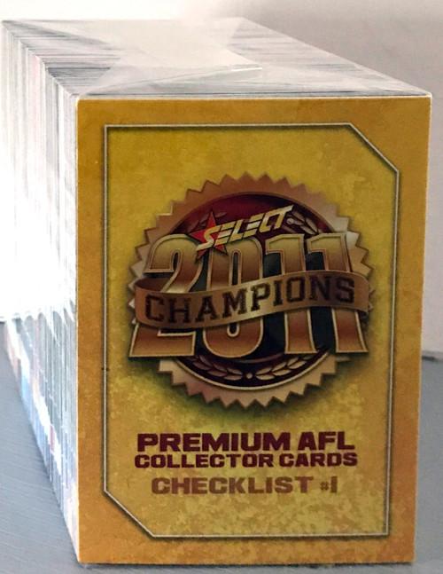 2011 AFL SELECT CHAMPIONS 190 CARD BASE SET