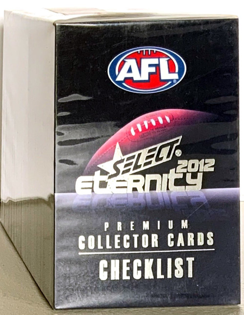 2012 AFL SELECT ETERNITY SERIES 220 CARD BASE SET