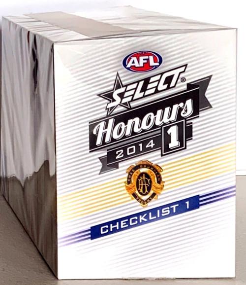 2014 AFL SELECT HONOURS SERIES 1 - 220 CARD BASE SET