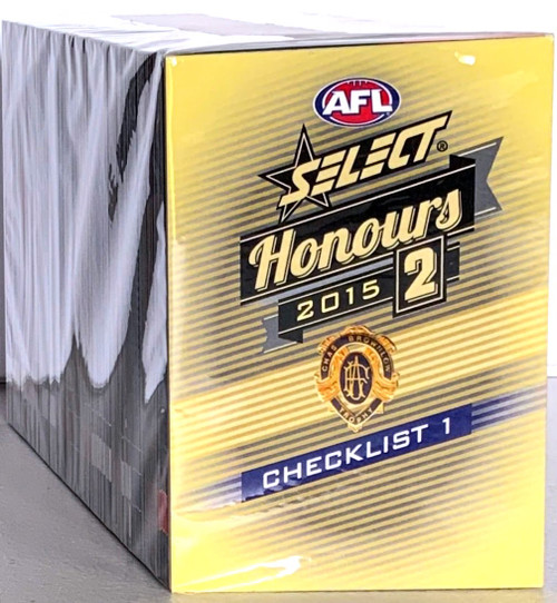 2015 AFL SELECT HONOURS SERIES 2- 220 CARD BASE SET