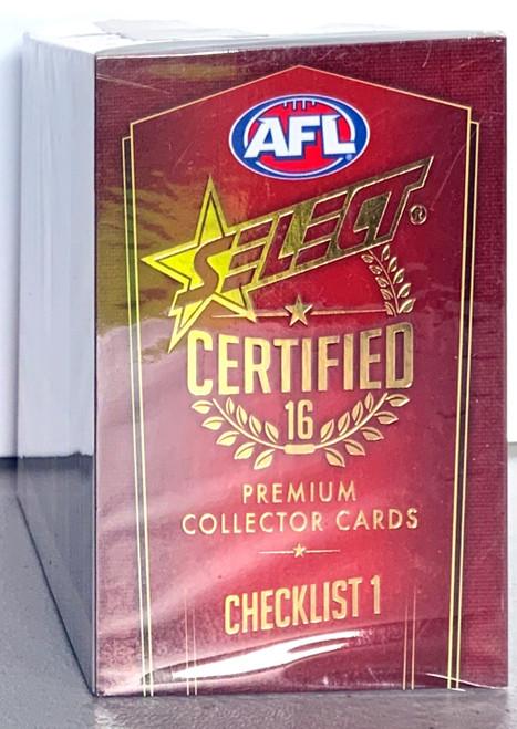 2016 AFL SELECT CERTIFIED SERIES - 200 CARD BASE SET